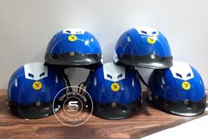Mũ Bảo Hiểm Nửa Đầu In Logo Quà Tặng