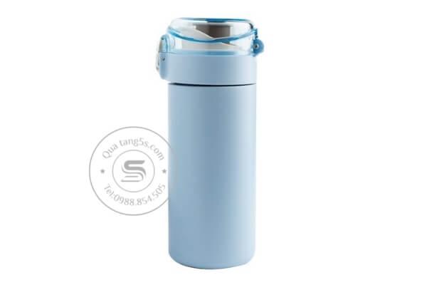 Bình giữ nhiệt vacuum màu xanh