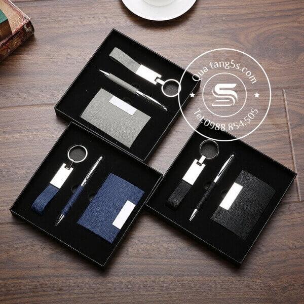 bộ quà tặng 3 sản phẩm in logo