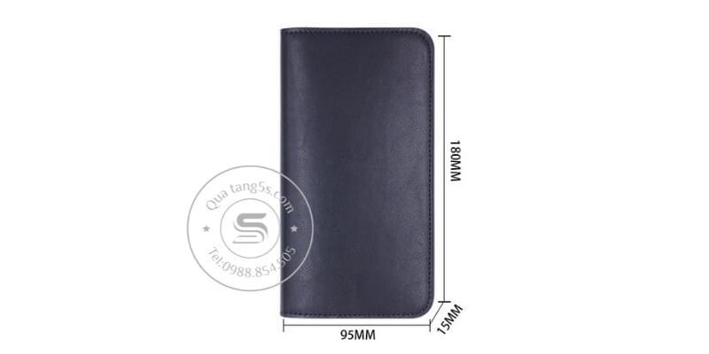 Kích thước của ví cầm tay đa năng